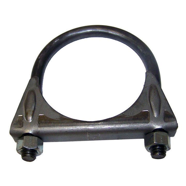 Exhaust Clamp, 2.50 inch, 72-91 Jeep SJ and J-Series