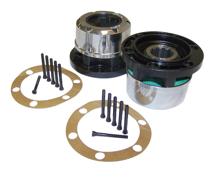 Manual Locking Hub Set, 41-68 Jeeps