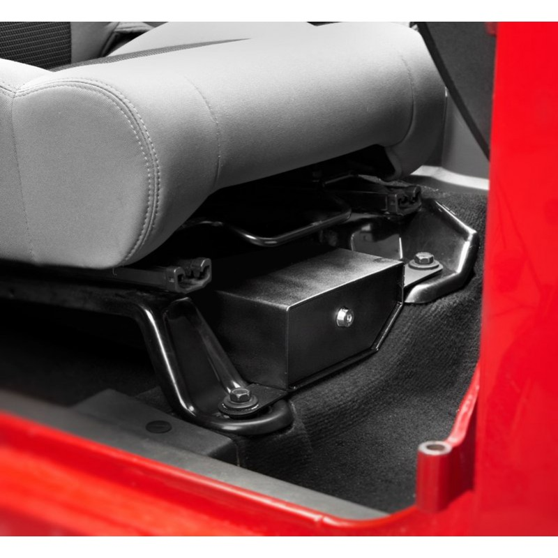 Bestop Passenger Side Under Seat Storage Box, 07-10 Wranglers JK