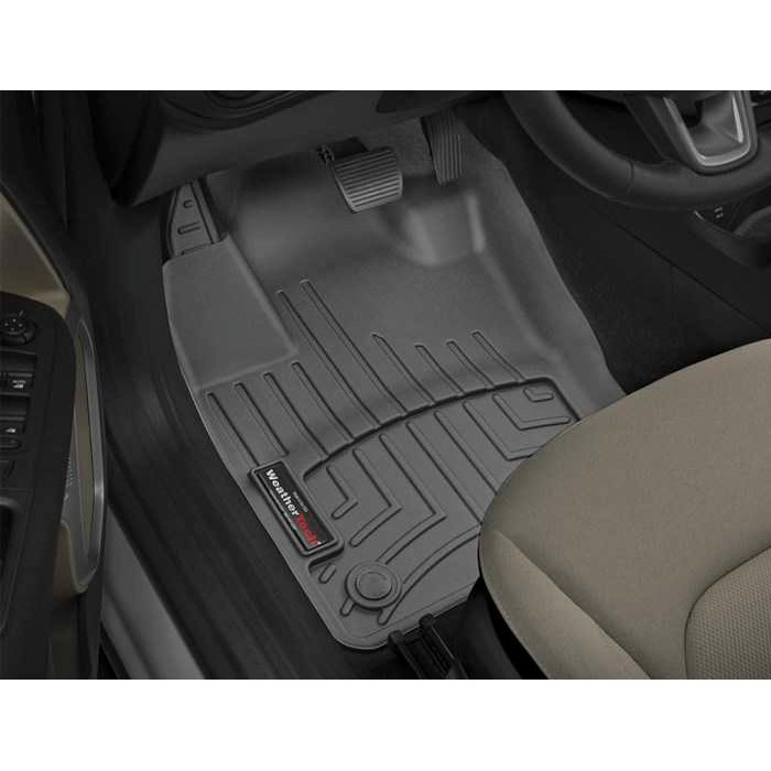 DigitalFit Front FloorLiner Kit, Black, 15-17 Jeep Renegade