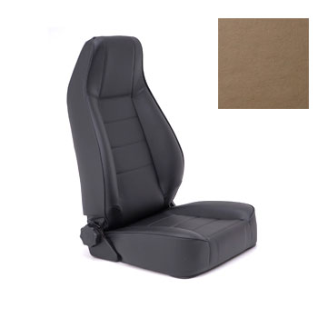 Replacement Seat with Recliner 76-92 Jeep CJ Wranglers Spice Denim