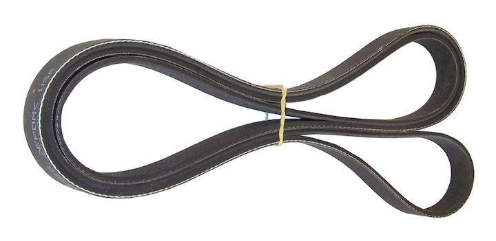 Accessory Drive Belt 07-11 Wrangler with A/C 3.8L Engine