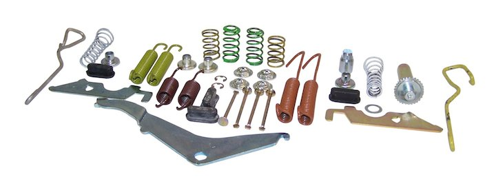 Rear Drum Brake Small Parts Kit 79-88 SJ, J-Series