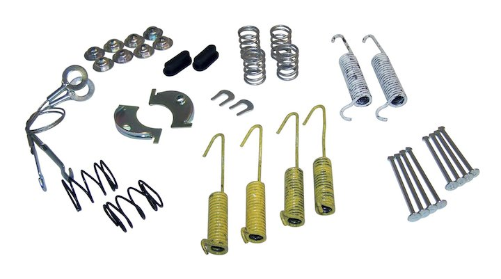 Drum Brake Small Parts Kit 79-85 CJ, 87-90 YJ, 87-90 XJ, MJ