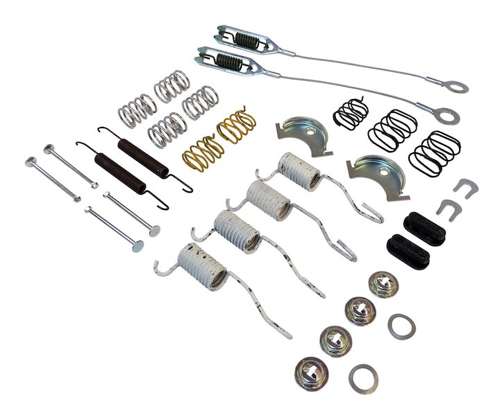 Drum Brake Small Parts Kit 90-05 Wranglers, 90-01 Cherokee