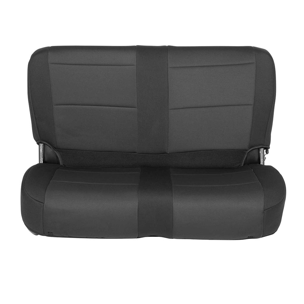1991-95 Wrangler Neoprene Seat Cover Set, Black