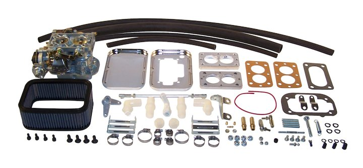 Carburetor, EPC 32/32E, 76-90 Jeeps 6-258