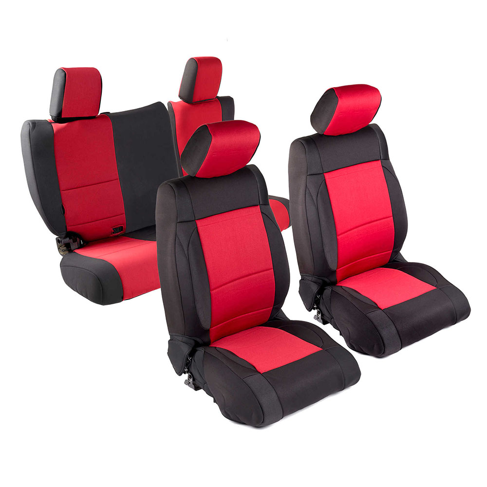 smittybilt 471430 front rear seat covers. Black Bedroom Furniture Sets. Home Design Ideas