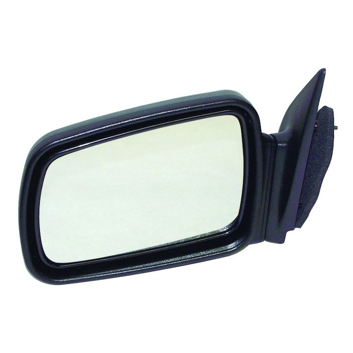 Manual Mirror, Left, Black, 93-98 Grand Cherokee ZJ