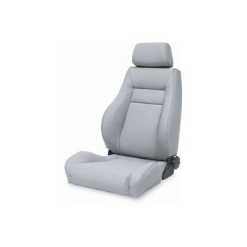 Contour Sport Seat 76-92 Jeep CJ Wranglers Grey Denim