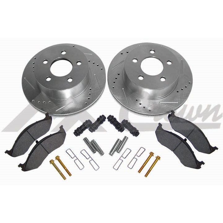 Performance Front Brake Kit 99-01 Cherokee XJ
