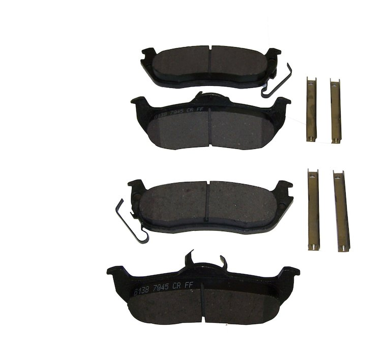 Jeep Rear Disc Brake Pad Set, Jeep WK, XK