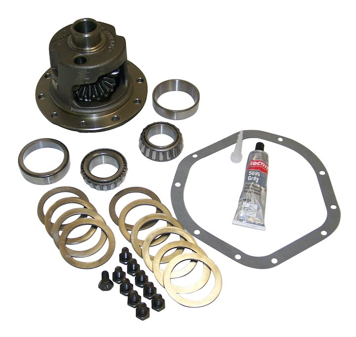 Differential Case Assembly, Locking, Model 44, 03-06 Wranglers