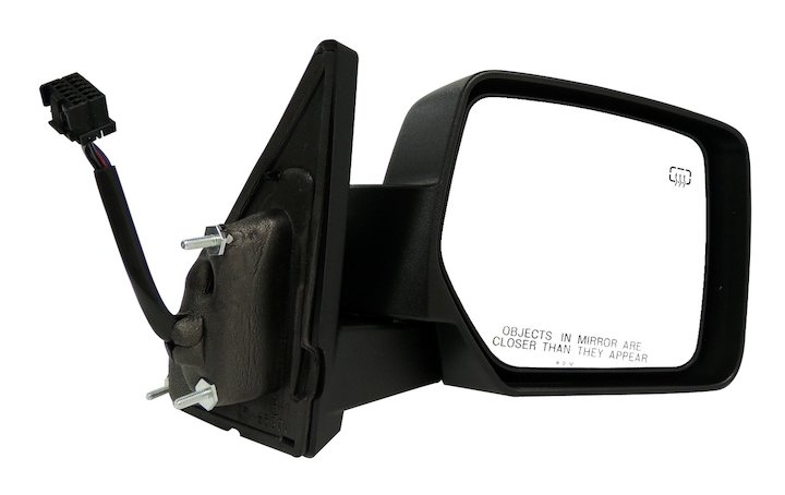 Jeep Patriot Right Power Heated Manual Folding Mirror