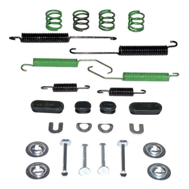 Drum Brake Hardware Kit, Jeep Compass, Patriot