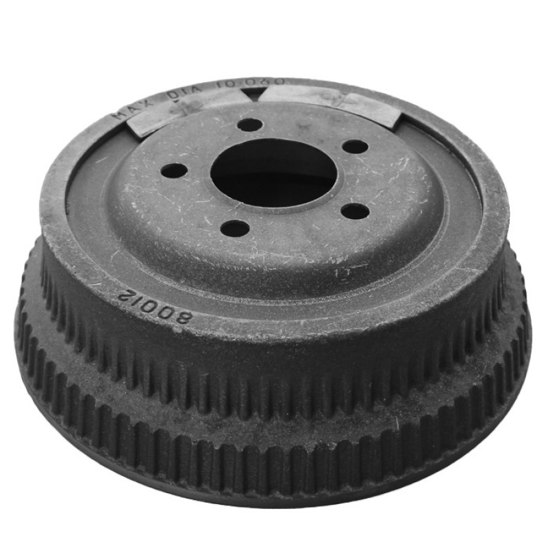 Brake Drum, Rear, Jeep Wrangler 1987-89 with 10