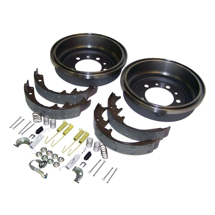 Rear Drum Brake Service Kit 78-83 Jeep CJ 10 inch Drum
