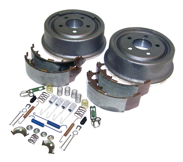 Jeep TJ XJ 9x2.50 inch Rear Drum Brake Service Kit