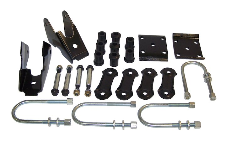 Rear Spring Mount Kit 87-95 Wranglers