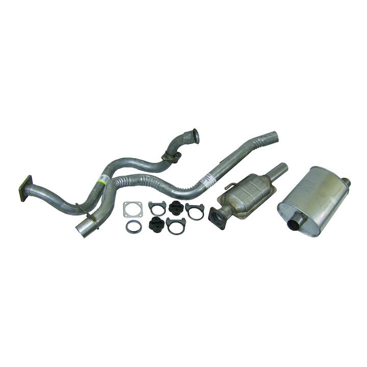 Exhaust Kit 91-92 Wranglers 4.0L Engine