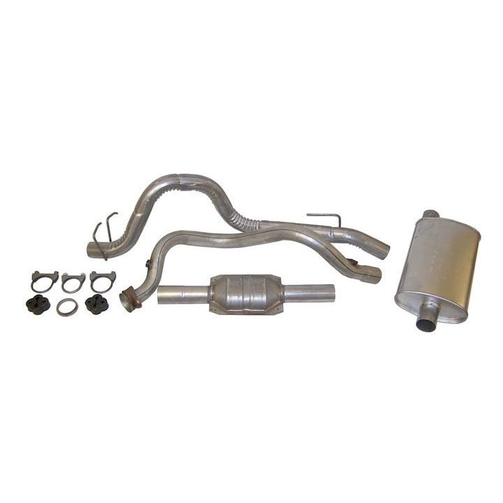 Exhaust Kit 93-95 Wranglers 4.0L Engine