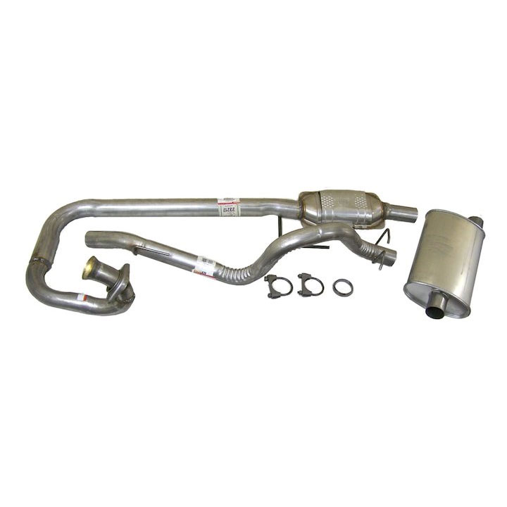 Exhaust Kit 97-99 Wranglers 4.0L Engine