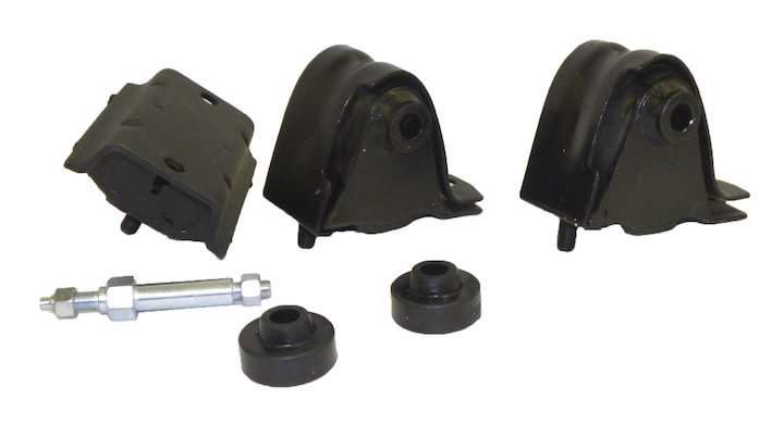 Motor Mount Kit 87-95 Wranglers 4.0L 4.2L Engine