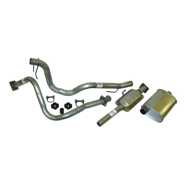 Exhaust Kit 87-90 Wranglers 4.2L Engine