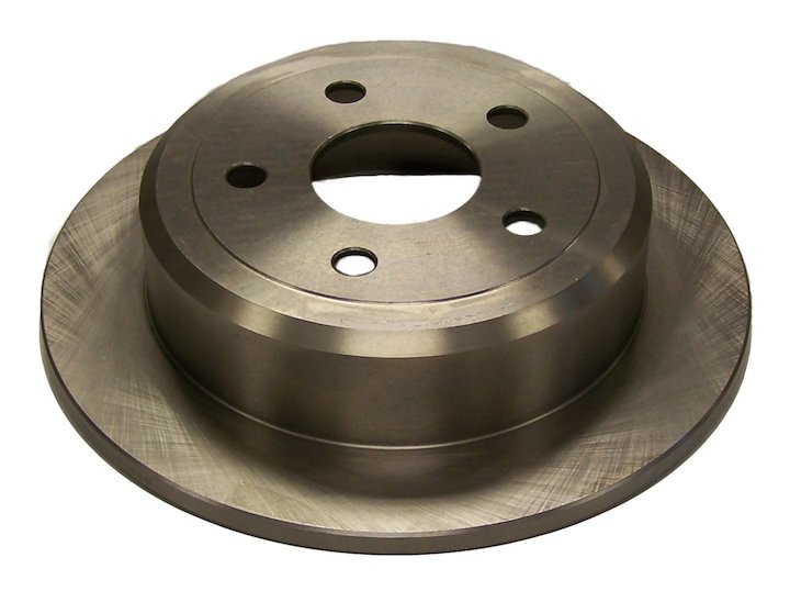 Jeep JK Wrangler Rear Brake Rotor