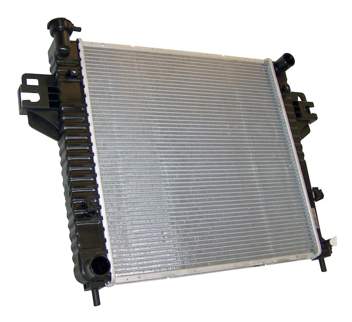 Radiator, 2.4L Engine, 02-05 Jeep Liberty KJ