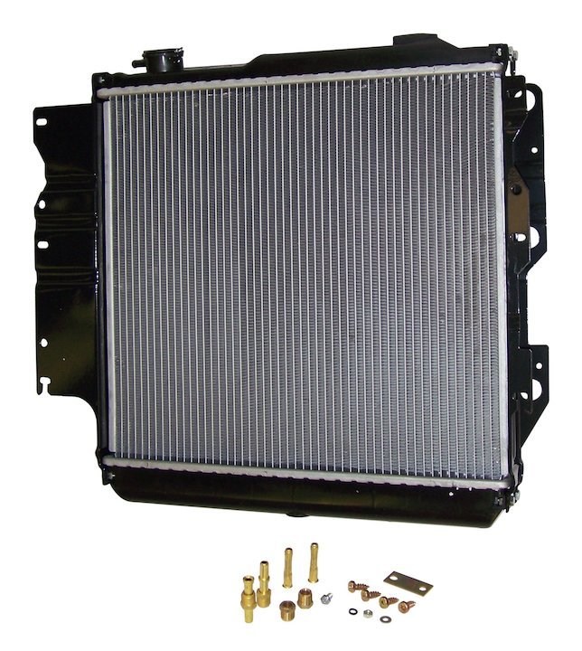 2 Rows Radiator for 1987-06 Wranglers