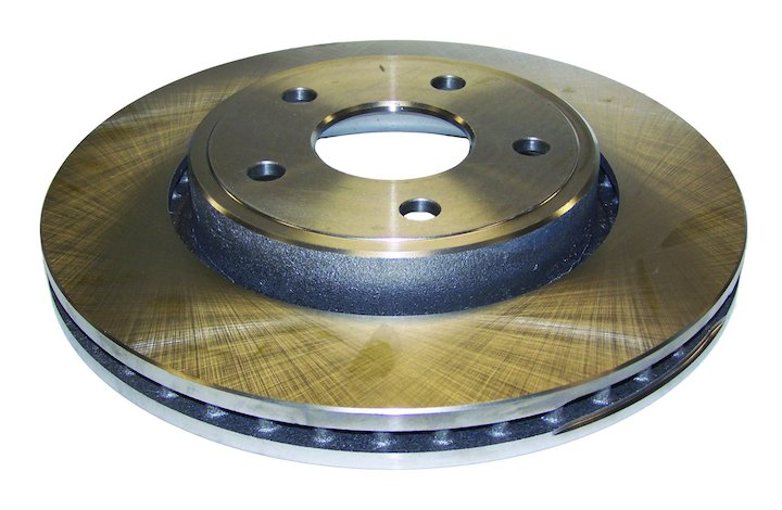 Front Disc Brake Rotor, Jeep WK, XK