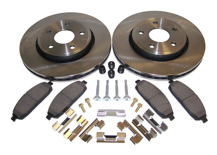 Front Disc Brake Service Kit, Jeep Cherokee WK, Commander XK