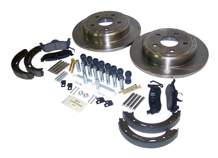 Jeep Rear Disc Brake Service Kit, Jeep WK, XK