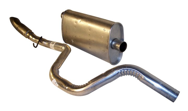 Muffler & Tailpipe, 4.0L Engine, 97-98 Grand Cherokee