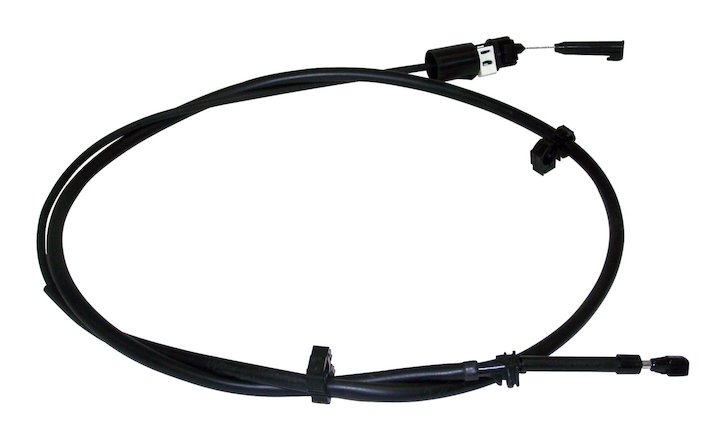 Throttle Control Cable, 2.5L, 4.0L, Wrangler and Cherokee