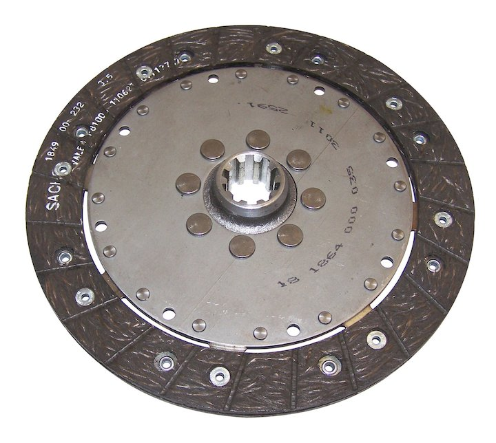 Clutch Disc 10 Spline 05-06 Wranglers 2.4L