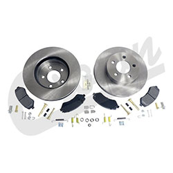 Jeep Liberty KJ Front Disc Brake Service Kit