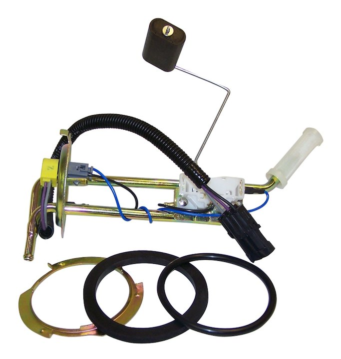 Fuel Sending Unit, 15 Gallon Tank, 87-90 Wrangler 4.2L