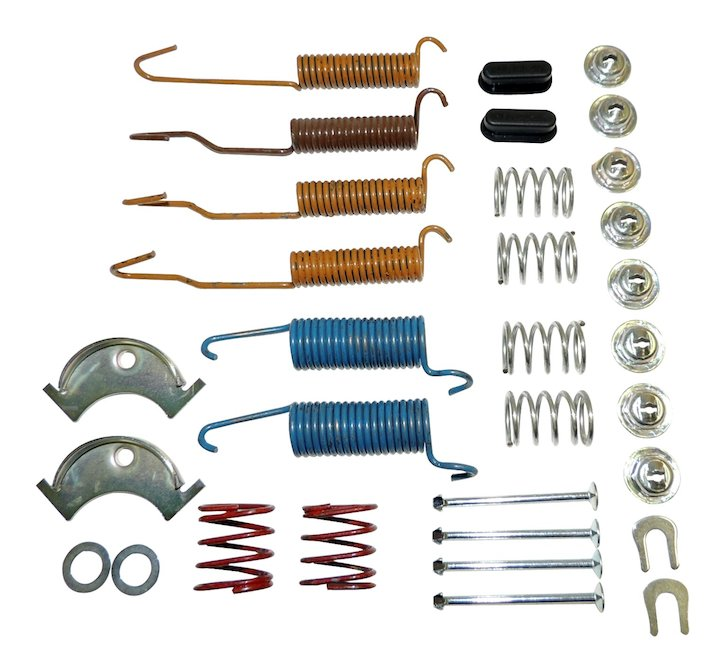 Brake Drum Hardware Kit 72-78 CJ5 CJ6