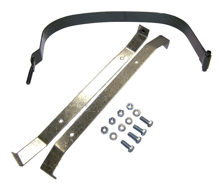 Fuel Tank Assembly Strap Kit 87-90 Wranglers
