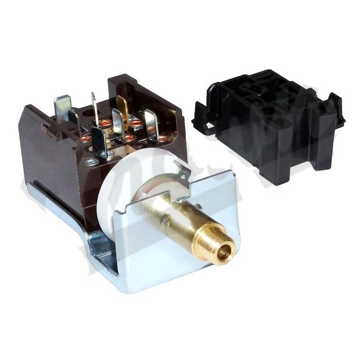 Headlight Switch Kit, Jeep CJ, SJ, J-Series