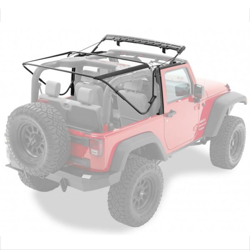 Bestop Supertop NX 07-17 Wranglers 2 Door Black Diamond