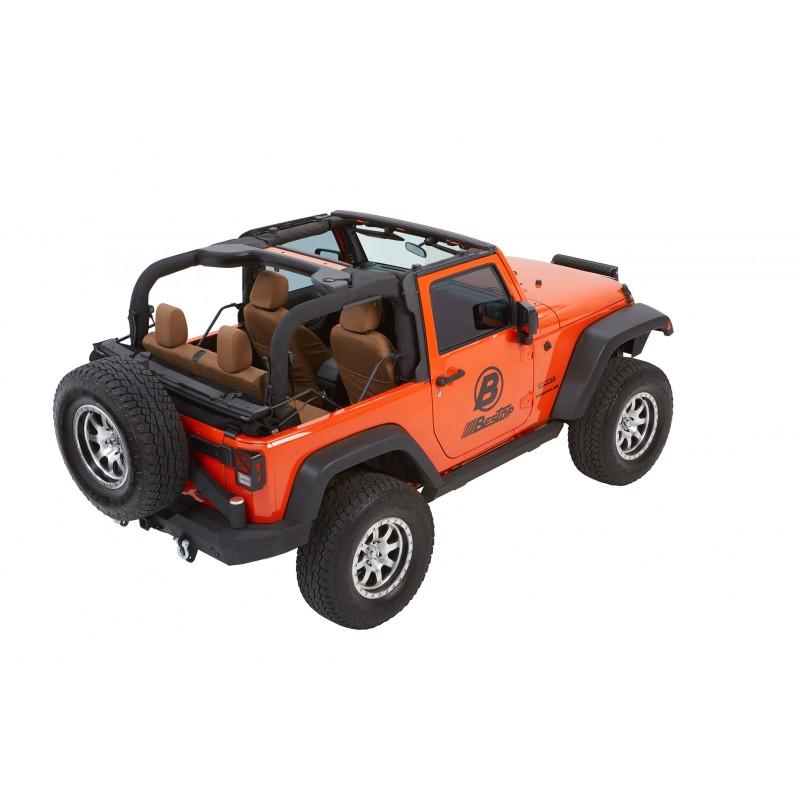 Best Top For Jeep: Bestop Trektop NX Glide Soft