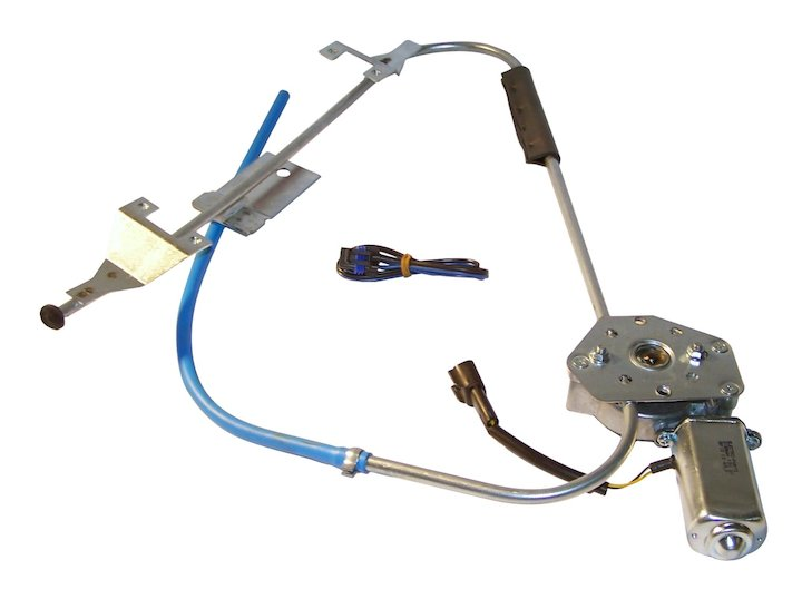 Electric Window Regulator, Front Left, 84-96 Cherokee