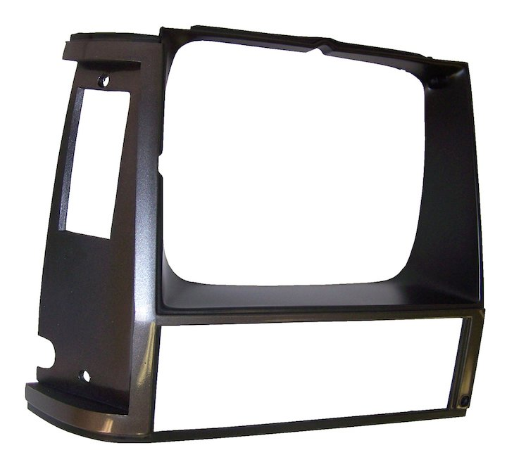 Headlamp Bezel, Right, Grey, 84-90 Cherokee XJ