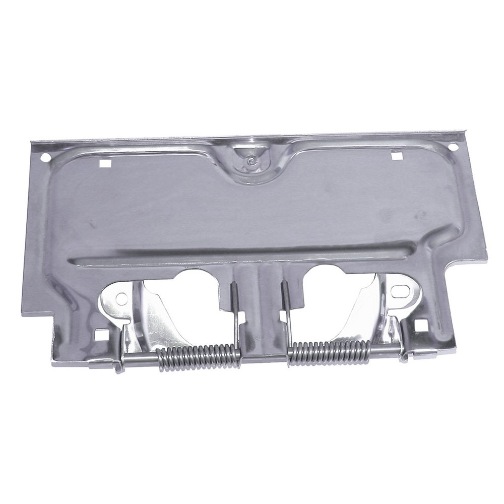 License Plate Bracket, Stainless Steel, 87-95 Wranglers