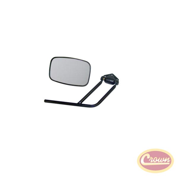 Mirror and Arm Kit, Right Side, 87-95 Wranglers