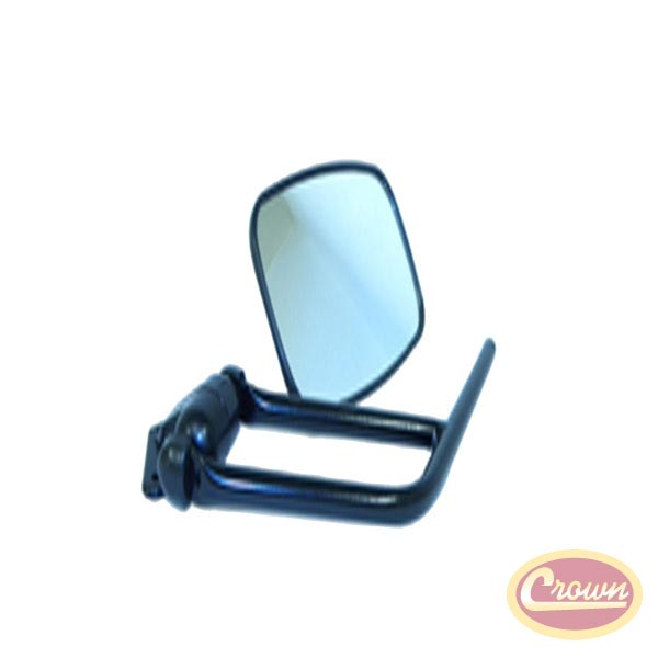Mirror and Arm Kit, Left Side, 87-95 Wranglers