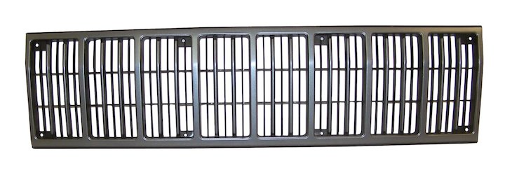 Cherokee Radiator Grille 88-90 Gray Black